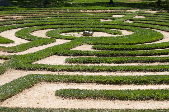 Labyrinth Here? by cogdogblog auf flickr CC BY 2.0